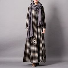 b81dc657cdb5 Knitted Printing Split Pleated Spring Maxi Dress in 2019 | Winter is  Coming! | Pinterest | Sweater dress outfit, Dress clothes for women and  Dresses
