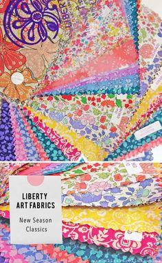 Liberty fabrics new season classics