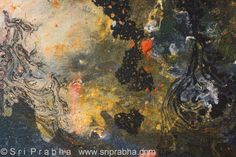Sri Prabha, Cosmic Intelligence, Mixed Media Painting