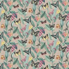 Papillon by Albany - Rose Gold - Wallpaper : Wallpaper Direct
