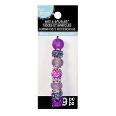 Purple Pave Mix Beads by Bead Landing™ Bits & Baubles™
