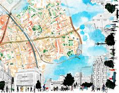 Natsko Seki - Map of Clerkenwell, London