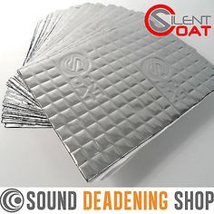 """The roof of my van now goes thud, not ting. With high grade construction and highly effective damping, Silent Coat Damping Mat is already the first sound deadening choice of many automotive professionals. Car Sounds, Van Interior, Sound Proofing, Van Life, Dodge Trucks, Mobile Homes, Front Entry, Caravan, Vw"