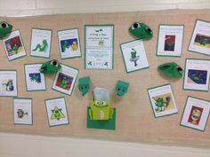 What a great way to use the Frog-Of-The-Day's to build anticipation for young learners!