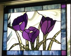 Stained glass crocus