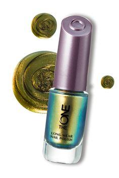 The ONE Long Wear Nail Polish-Gold Nacre #Nails #Oriflame