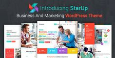 StarUp - Business And Marketing WordPress Theme by vinirama  About StarUpStarUp is a Responsive Color Full WordPress Theme, Suitable for Business, Corporate, Studio, Firm, Banking, Law, etc