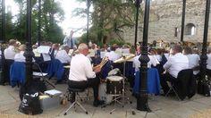 Newark Town Band Musical Director Rupert Trippett - At Castle
