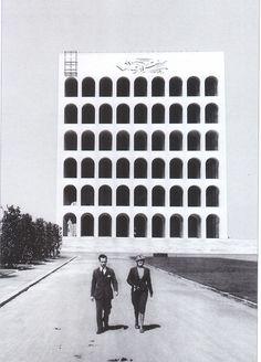 Giovanni Guerrini, Ernesto Bruno La Padula and Mario Romano | Palazzo della Civiltà Italiana, Roma | #roma