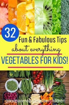 Here are the Most Amazing Veggies that Make Kids Smarter! Want happy, healthy & smart kids? Feed them veggies for super brain-power & increased cognitive function. Veggies keep kids energized & the beautiful colors keep kids healthy. Healthy Toddler Meals, Healthy Kids, Happy Healthy, Kids Meals, Healthy Snacks, Healthy Eating, Healthy Summer, Family Meals, Nutrition Activities