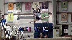 Whitney's First Level 8 Gymnastics Meet