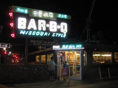Bear Pit Bar-B-Q Missouri Style Sign. In 1976, the Gordons decided to retire, so they sold the chain to Burton and Shirley Schatz, veteran restaurant operators. The Schatz's kept the original recipes, but added many new items, such as barbecue turkey, beef back ribs, and especially Shirley's New Fashioned barbecue sauce. Her own invention, Shirley's sauce was an immediate hit, and became almost as popular as the original.