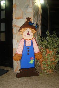 scarecrow. Pintado por Lisbette monasterios @creativelis