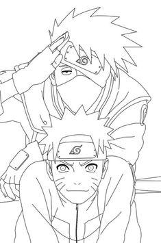 21 Imágenes Excelentes De Páginas Para Colorear De Naruto En 2019