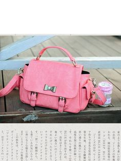 got a date Kawaii pink satchel #asianicandy