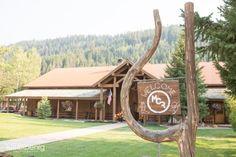 Jackson Hole Wedding Venues: Moose Creek Ranch  on Borrowed & Blue.  Photo Credit: via Moose Creek Ranch