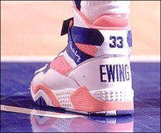 Patrick Ewing's signature sneaker re-release...sweet!