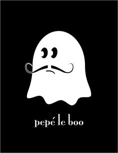 cute ghost printables