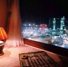 I dream for this room and view someday soon ,aur woh sath masha allah .🙈😊😍😄😄 In SHA Allah Hadith, Alhamdulillah, Allah Islam, Islam Quran, Pillars Of Islam, Quran Book, Online Quran, Masjid Al Haram, Mekkah