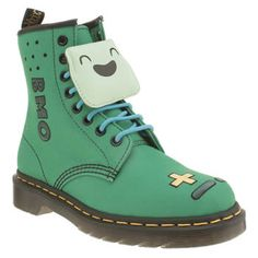 Dr Martens Turquoise Castel Adventure Time Bmo Boots