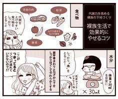 【漫画連載】ダイエット効果のある裸族生活でやせるコツとは? | 連載 | 特集 | ダイエット、運動、健康のことならFYTTE | フィッテ