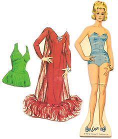 Mostly Paper Dolls: Search results for paper dolls