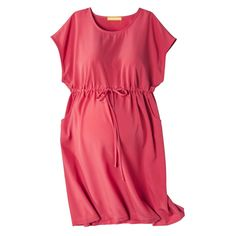 a1e27f50f7718 Maternity Short Sleeve Shirt Dress-Liz Lange  for Target  Target Maternity,  Maternity