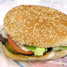 King bk stacker burger