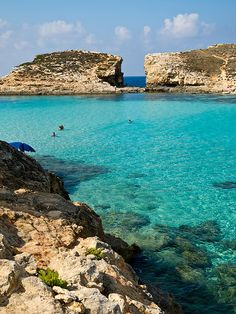 Comino, Malta. Can you believe the color of that water? Malta Direct will help you plan your trip - www.maltadirect.com