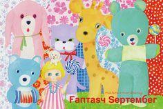 marini*monteany exhibition「Fantasy September」