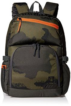 Volcom Mens Over Achiever Backpack Vineyard Green One Size ** See this great product.