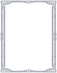 Printable art deco border. Free GIF, JPG, PDF, and PNG downloads at http://pageborders.org/download/art-deco-border/