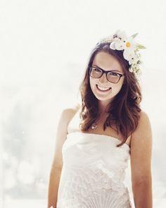 Noiva com óculos e sem grilos - Site de Beleza e Moda