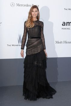 Bianca Balti amfAR event Cannes 2013