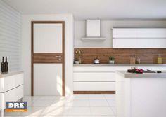 Rivia TOP 10 biała mat orzech amerykański Double Vanity, Home Kitchens, Divider, Loft, Bathroom, Bed, Furniture, Home Decor, Innovation