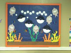 pinterest ocean bulletin board ideas | Ocean bulletin board