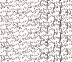 magical blooms fabric by kociara on Spoonflower - custom fabric