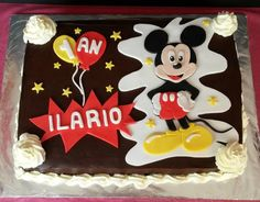 grand gâteau Mickey                                                       …