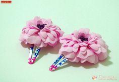 Заколки с цветами из фоамирана | Уроки творчества | Леонардо хобби-гипермаркет - сделай своими руками