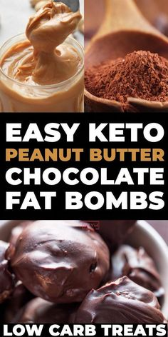 This dairy-free keto chocolate peanut butter fat bomb recipe will curb your candy cravings fast! You'll love this low carb, no bake treats Keto Chocolate Fat Bomb, Chocolate Peanut Butter, Chocolate Cheesecake, Chocolate Recipes, Blueberry Cheesecake, Lemon Cheesecake, Peanut Butter Recipes, Coconut Recipes, Peanut Butter Bombs