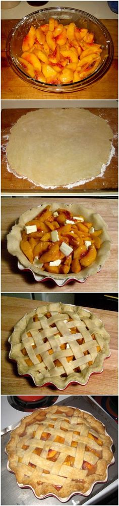 joysama images: A Peach Pie