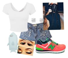 """""""give me a sec"""" by livin4love ❤ liked on Polyvore featuring STELLA McCARTNEY and New Balance"""