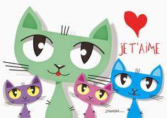 MY CAT ART - Zamba - ILUSTRAÇÃO E ARTE
