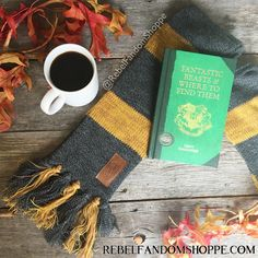 Fantastic Beasts scarf Fantastic Beasts and Where to Find Them Newt Scamander Hufflepuff