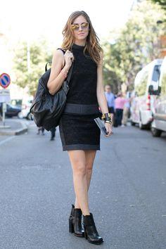 Fashion-with-Style.com | Street style inspiration from MMFW SS14  #streetstyle #street #streetfashion #streetphotograpy #mfw #milan #milano #milanfashionweek #june #2013 #ss14 #chiaraferragni