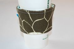 Coffee Cozy Cup Cozy Home and Living Cozy by CinnamonStixSundries