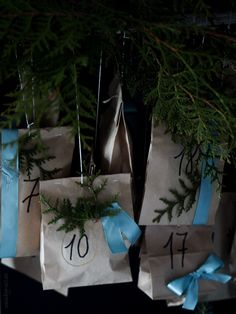 www.byrust.no/blogg  Adventskalender Reusable Tote Bags, Gift Wrapping, Gifts, Advent Calendar, Paper Wrapping, Presents, Wrapping Gifts, Favors, Gift Packaging