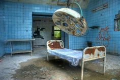 Abandoned operating theatre