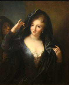 Raoux - Jeune fille au collier de perles - Jean Raoux (peintre)