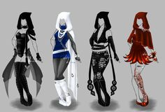 Outfit design - 118 -121 - closed by LotusLumino on DeviantArt